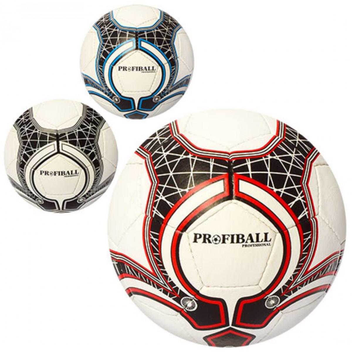 Мяч футбольный кожа PU Profi (2500-65ABC). Купить - (Киев Днепр ... b3ae2f62a9d