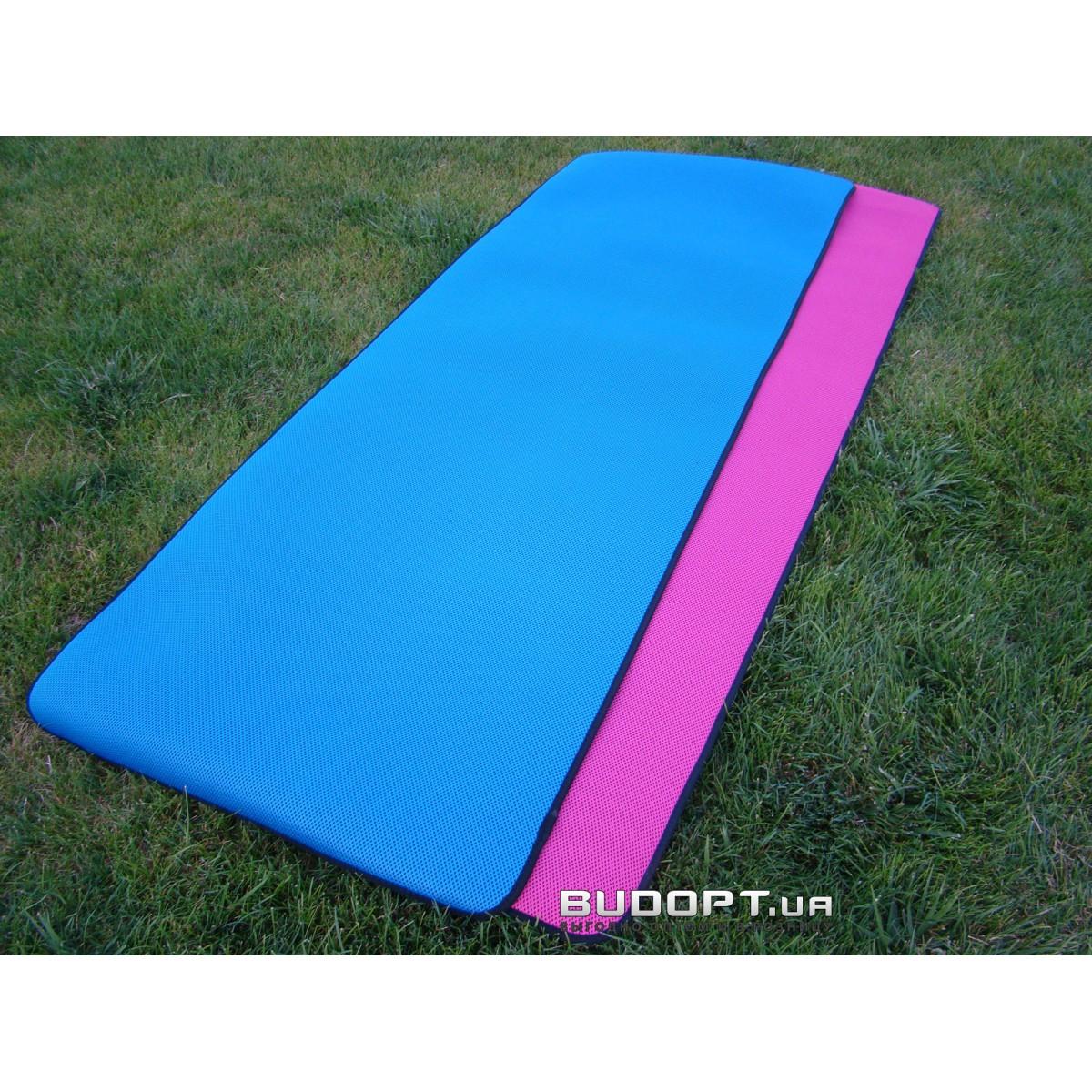 e03c6b5a7179 Коврик для йоги и фитнеса TPE+NY 5мм (FI-4531-BL) Yoga mat. Купить ...