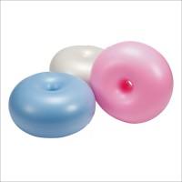 Мяч для фитнеса Бублик (фитбол) PS гладкий 50 см