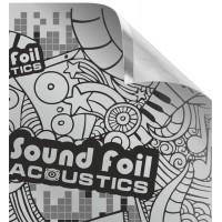 Фольгированный лист (фольга) с липким слоем Acoustics 700х500мм 200 микрон (SoundFoil)