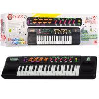 Синтезатор детский (пианино детское) на 32 клавишы, 12 мелодий 44х12х5см Bambi (TX-3322)