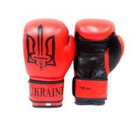 Перчатки боксерские Tryzub Ukraine Red