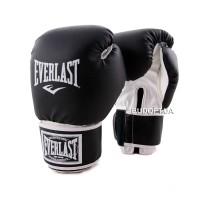 Боксерские перчатки для бокса Everlast LV-5378 (8, 10, 12 унций) Кожвинил
