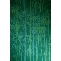 Коврик для йоги и фитнеса из ПВХ 173х60х0.3см Gaiam Green bamboo