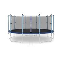 Батут с лестницей Hop-Sport 16FT (488 см) с внутренней сеткой