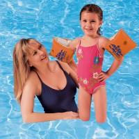 Нарукавники детские надувные для плавания (купания) 30х15см Intex (58641)