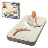 Матрас-кровать надувной пляжный для отдыха и дома Intex (64707)