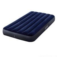 Матрас-кровать надувной пляжный одноместный для отдыха, дома и пляжа 191x99см Intex (64757)