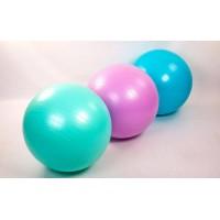 Мяч для фитнеса (фитбол) гладкий сатин 65см с насосом Ironmaster (IR97403)