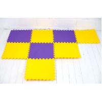 Детский игровой коврик-пазл (мат татами, ласточкин хвост) 50cм х 50cм толщина 10мм OBABY Lite (FI-0092)