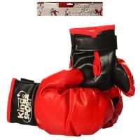 Детские боксерские перчатки (для бокса) на липучке 25см Kings Sport (M 2919)
