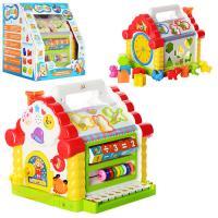 Игра Теремок (домик) музыкальный со вставными фигурками и светоигрой Limo Toy (JT 9196)