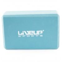 Блок для йоги LiveUp EVA BRICK