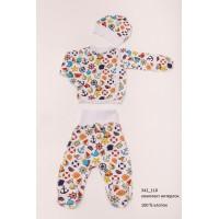 Детская пижама для девочек (мальчиков) OBABY (342-110)