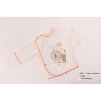 Распашонка для новорожденных мальчиков (девочек) OBABY (348-111)