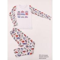 Пижама детская (ночнушка) для детей мальчиков (девочек) OBABY (395-110)