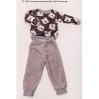 Пижама детская (ночнушка) для детей мальчиков (девочек) OBABY (513-115)