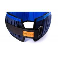 Пояс утяжелительный регулируемый Onhillsport 10 кг 60 см (UP-0105)