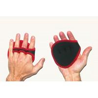 Атлетические перчатки-накладки нескользящие, прорезиненные Onhillsport