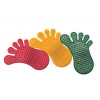 Коврик резиновый для стоп ног Следы Onhillsport (MS-1210)