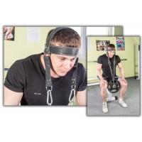 Упряжь для тренировки мышц шеи Onhillsport D2 (OS-0338)