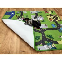 Детский развивающий игровой коврик для ползания (теплый пол) OSPORT (M 3511)