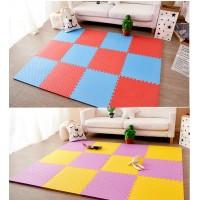 Детский игровой коврик-пазл (мат татами, ласточкин хвост) OBABY 50cм х 50cм толщина 10мм (FI-0133)