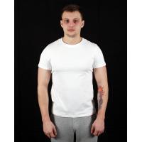 Футболка мужская спортивная (под принт, печать) OSPORT белая (os-0001-1)