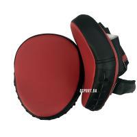 Лапы боксерские (для бокса) гнутые из кожвинила 25х21х4.5см ОSPORT (FI-0123)