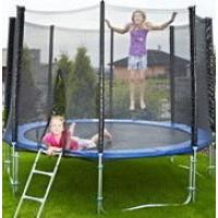 Батут для дома с защитной сеткой для взрослых и детей профессиональный OSPORT диаметр 185 см (MS 0500)