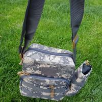 Сумка рюкзак тактическая военная (туристическая) через плече однолямочная OSPORT Pixel (N02181)