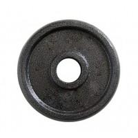 Металлический блин (диск чугунный) для гантели (штанги) под гриф 25мм OSPORT 10 кг (OF-0041)