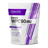 Концентрат сывороточно-белковый instant протеин WPC80.eu порошок 2.27кг OstroVit (08389-01)