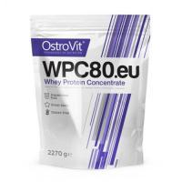 Концентрат сывороточно-белковый протеин WPC80.eu порошок 2.27кг OstroVit (08401-07)