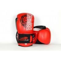 Боксерские перчатки PowerPlay 3006 Lion Predator Series