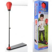 Детский боксерский набор на стойке (груша напольная) для детей М1082