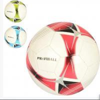 Футбольный мяч (для футбола) размер 5 ПВХ Bambi (EN 3204)