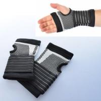 Перчатки спортивные (атлетические, тренировочные) для зала и фитнеса с защитой запястья Profi (MS 2823)