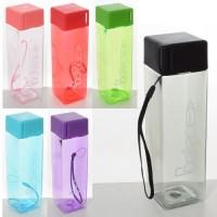 Бутылка (бутылочка) для воды и напитков спортивная 430 мл Profi (MS 2945)