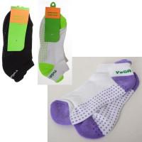 Носки для йоги (фитнеса) и спорта безразмерные Profi (MS 2864-1)