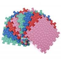 Массажный детский ортопедический коврик-пазл Мозаика OSPORT 8 шт (M 3513)