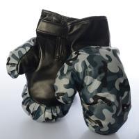 Детские боксерские перчатки (для бокса) на липучке 23см Kings Sport (M 5681)
