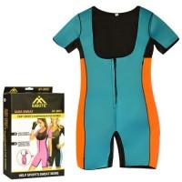 Комбинезон спортивный для фитнеса и похудения Profi (MS 2052)