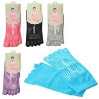 Носки для йоги (фитнеса) и спорта безразмерные Profi (MS 2135)