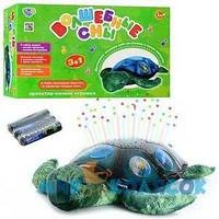 Ночник детский в форме черепахи на батарейке Profi (YJ 3)