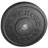 Бамперный диск Rekord BP-15 15 кг