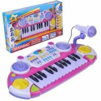 Пианино RoyalToys 7234р для девочки