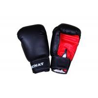 Перчатки боксерские SENAT 10 унций, кожзам