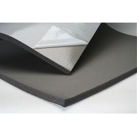 Тепло-шумоизоляция из вспененного каучука SoundProOFF Flex Sheet с фольгой и клеем 25мм
