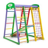 Детский спортивный комплекс 132х124х150см SportBaby (Акварелька мини)
